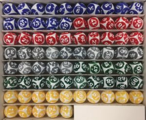 american-bingo 75 balls set