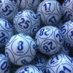 bolas de bingo azules